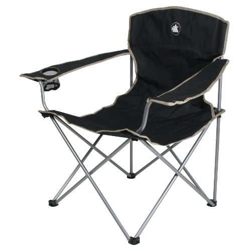 10T Quickfold Easy - Mobiler Camping-Stuhl mit flexiblen Armlehnen sehr handlich faltbar inkl. Tasche