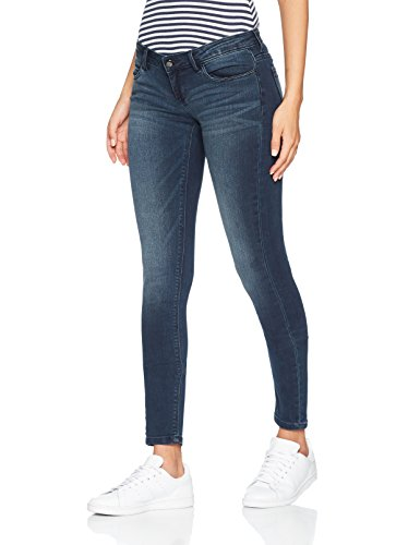 ONLY Damen Skinny Jeans 15143417, Blau (Dark Blue Denim), W30/L30 (Leg-jeans Low-rise-skinny)