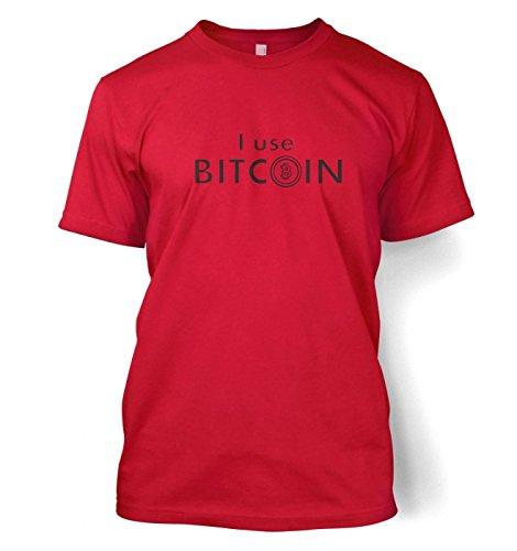 I Use Bitcoin t-shirt Rot