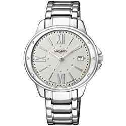 Vagary By Citizen IB5-519-11Women's Quartz Analogue Watch, Stainless Steel Strap Multicolor