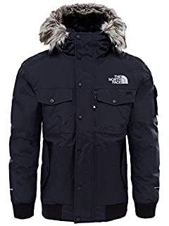 The North Face Waterproof Gotham Men's Outdoor Hooded Jacket available in Tnf Black/High Rise Grey - Small (B073ZHLQ63) | Amazon price tracker / tracking, Amazon price history charts, Amazon price watches, Amazon price drop alerts
