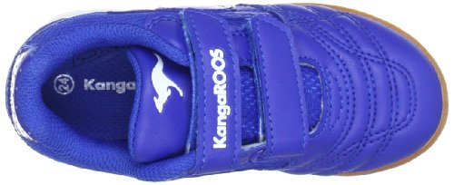 KangaROOS Babyyard 0040A, Scarpe sportive indoor unisex bambino Blu (Blau (royalblue/wht 470))