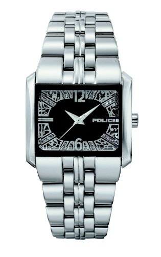 Police P11332LS-02M - Reloj analógico de mujer de cuarzo con correa de acero inoxidable plateada