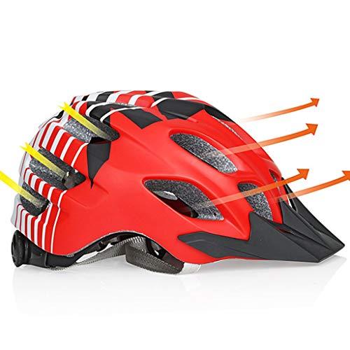 S-TK Micro Helm Specialized Fahrradhelm Damen Fahrradhelm Hut Mit Led Licht Einstellbare Fahrradhelm Damen Fahrradhelm 58 Cm-62 cm