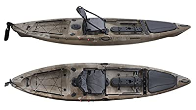 Fishing Kayak Grapper Barracuda Desert Camo by Grapper