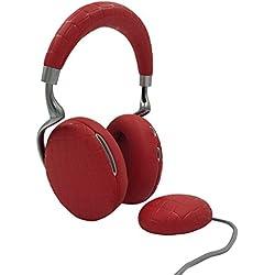 Parrot Zik 3 by Starck Casque audio Bluetooth, chargeur à induction inclus Rouge Croco