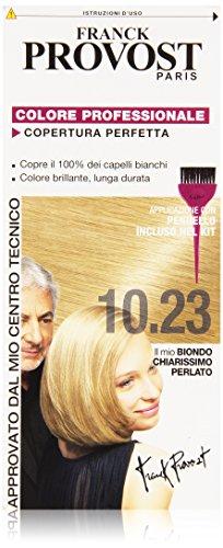 Franck Provost Colore Professionale Copertura Perfetta, 10.23 Biondo Chiarissimo Perlato
