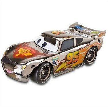 Image of Disney/Pixar Cars 2015 Exclusive Silver Racer Series - LIGHTNING MCQUEEN