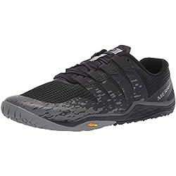 Merrell Trail Glove 5, Zapatillas Deportivas para Interior para Hombre, Negro Black, 44.5 EU