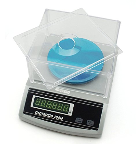 HAND Precision Electronic Fabric Weight/ Jewellery Scale, White, 1000G X 0.01G