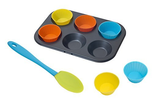 Annabel Karmel Mini Cupcake Set with Spatula (6-Piece) by Annabel Karmel Cupcake-spatula