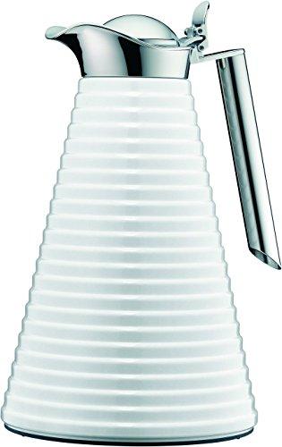Alfi 1560.219.100 Isolierkanne Achat Aluminium lackiert, 1 L, polar weiß