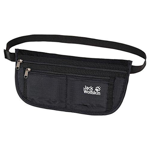 Jack Wolfskin Unisex Hüfttasche De Luxe black