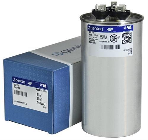 Kondensator rund 60/10uF MFD 440Volt -