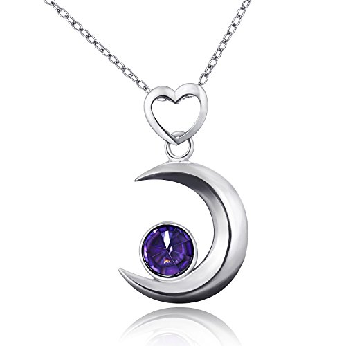 amberma-moon-touch-crescent-moon-pendant-necklace-sterling-silver-purple-cubic-zirconia-fashion-for-