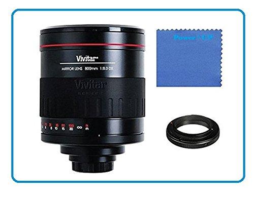 Vivitar 800 mm 1:8,0 Objektiv manueller Fokus Spiegelobjektiv für Sony Alpha a7 II, ILCE-7M2, a7R, ILCE-7R, a7S, ILCE-7S, a6000, a5000, a5000L, a5100, A3000, NEX, NEX-3, NEXF3, NEX3NL, NEX3NY, NEX-5, NEX5NDB, NEX5NYB, NEX5NKB, 5T, NEX5TL, NEX5TY, NEX5RL, NEX6, NEX-7, NEX7KB SLR-Systemkamera (E Objektivbajonett)