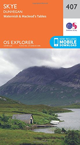 OS Explorer Map (407) Skye - Dunvegan