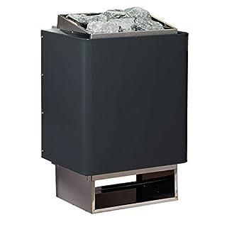 Saunaofen EOS 34A, 7.5 kW, Anthrazit, inkl. Premium Saunasteine ARTVION