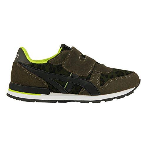 BASSED by Xti Kinder Schuhe Zapato Nino Sneaker Leo oliv - bitte Maße beachten Oliv Grün
