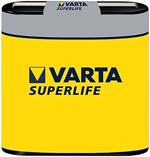 Varta 72477 Superlife 3R12/Flat (2012) - Zinkchlorid Batterie