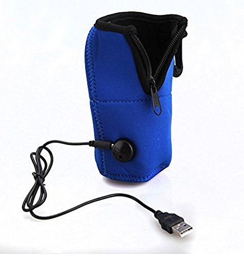 PANGUN Portable 12V Universal Voyage Voiture Bouteille De Lait Chauffe-Biberon Sac Chauffant pour Bébé Enfants Lait Chaud Dispositif