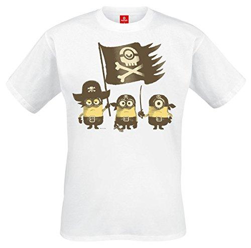 Camiseta de los Minions con diseño pirata