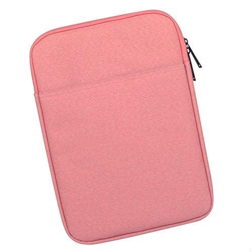 GADIEMENSS Taschen Schutzhülle 10 Laptop Tasche 8 Tasche Tablet Hülle Für Apple Tablets Apple Mini Ipad Hülle Tasche Taschen Ipad Mini Hülle Universal Ipad Mini Schutzhuelle Pink 8 Zoll