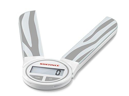 Soehnle 66227 Digitale Küchenwaage Genio Grey - Kunststoff-utensil Display