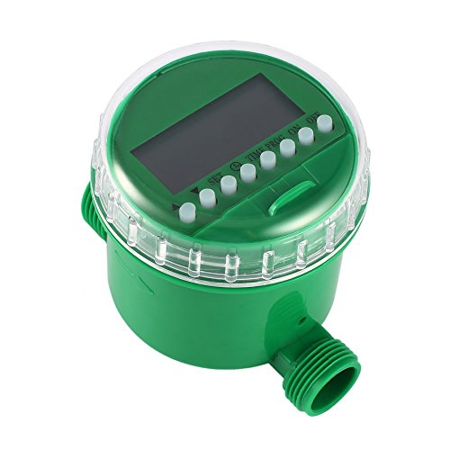 Banbie8409 LCD Display Automatic Intelligent Electronic Water Timer Rubber Gasket Design Solenoid Valve Irrigation Sprinkler Controller