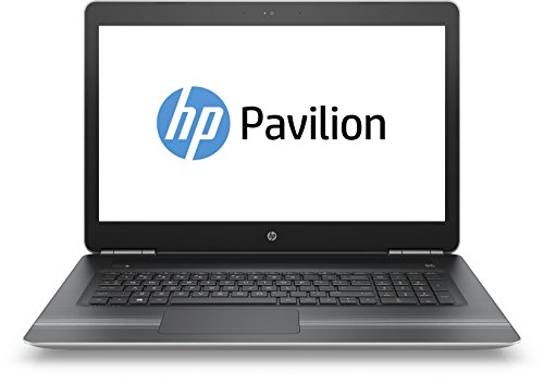 HP Power Pavilion (17-ab003ng) 43,9 cm (17,3 Zoll/Full-HD IPS) Multimedia Laptop (Intel Core i7-6700HQ, 8GB RAM, 256GB SSD, NVIDIA GeForce GTX 960M 2GB GDDR5, Windows 10) silber