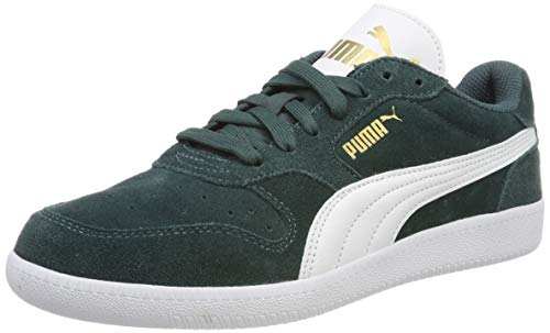 634dfd06 Puma Unisex Adults' Icra Trainer Sd Low-Top Sneakers, Green (Ponderosa Pine