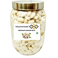 TOUCHSTONE - our motto is TOUCHSTONE Whole Cashew Nuts with Pet Jar (W270, 1KG)