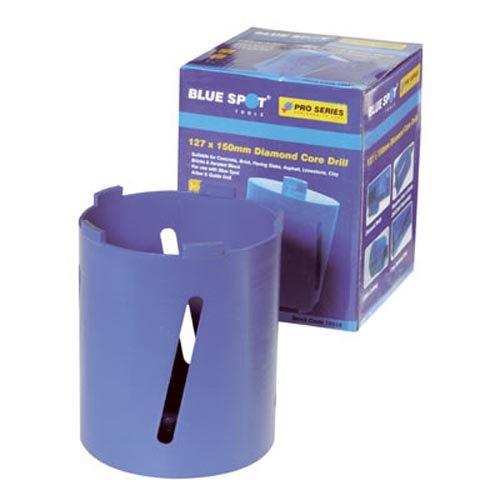 BLUE SPOT 19518 - BROCA DIAMANTADA CILINDRICA PARA SACATESTIGOS (127 X 150 MM)