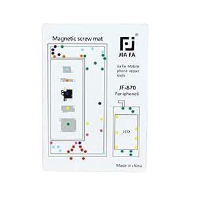 JIAFA (#104) Magnetic Screws Mat for iPhone 6