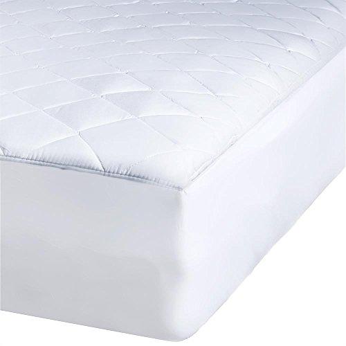 Matratzen Bett Schoner 200x220, kochfest atmungsaktives Unterbett Microfaser Polyester Matratzenauflage, auch für Boxspringbetten und Wasserbetten geeigneter Matratzenschutz, bis ca. 35 cm Höhe, aqua-textil Matratzenschoner Soft Touch 0010597