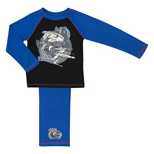 s Pyjamas, 100% Baumwolle, Alte - Millenium Falcon 7-8 Years (Star Wars-pyjama Für Erwachsene)