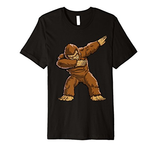 Bigfoot Sasquatch Sanftes T Shirt Funny DAB Monster Geschenke