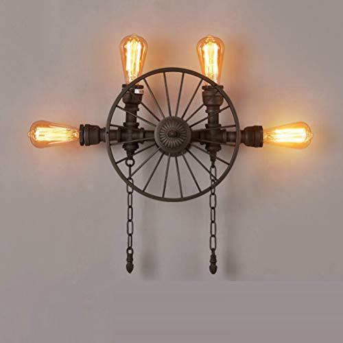 Retrò nero fienile luci da parete cigno barn luci industriale vintage casa colonica lampada da parete comprendono fonte di luce per infissi luce interna,b
