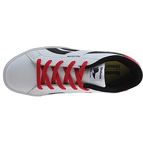 Reebok Bd2505, Chaussures de sport garçon Blanc