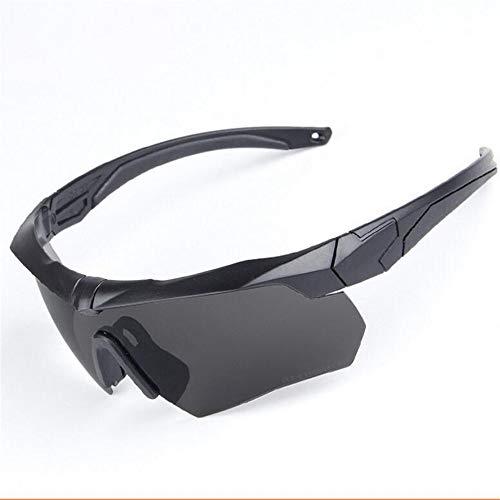 Männer und Frauen polarisierten Sport-Sonnenbrille Persönlichkeit vertraglich Schutzbrille Schießbrille Brille Bewegung Radfahren Brille Radfahren Outdoor-Sport Brille Sonnenbrille Laufende Schießspor