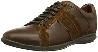 Tommy Hilfiger OLIVER 12C, Herren Sneakers, Braun (WINTER COGNAC 906), 45 EU (10.5 Herren UK)