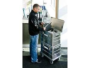 Caisses de rangement aluminium: Poids env. 5,0 , Contenu 67 , Dim. Intérieures (Lxlxh) 535 x 325 x 385 , Dim. extérieures (Lxlxh) 600 x 400 x 415