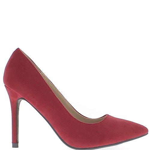 scarpe-rosse-con-punte-di-10cm-di-tacchi-sottili-sharp-camoscio-aspetto-38