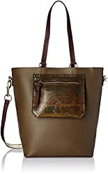 Accessorize Womens Tote Bag (Khaki)