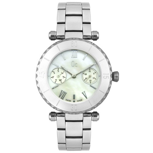 Reloj Guess Collection Gc Diver Chic I20026l1s Mujer Nácar