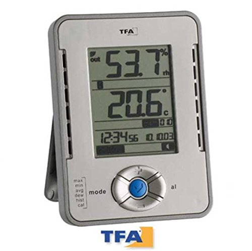 TFA Dostmann Profi-Thermo-Hygrometer mit Datenlogger-Funktion 30.3015