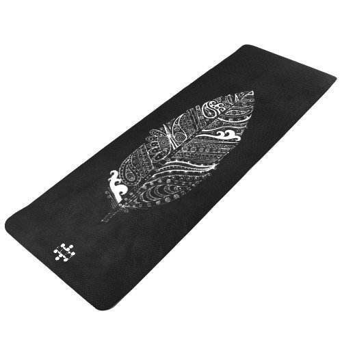 FLYT Yoga, Pilates, Fitness Allrounder-Matte Modell Feather & Jungle (Feather)