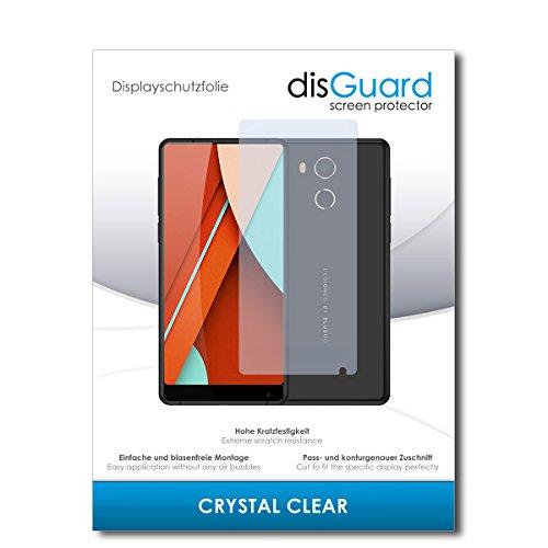 disGuard® Bildschirmschutzfolie [Crystal Clear] kompatibel mit Bluboo D5 Pro [3 Stück] Kristallklar, Transparent, Unsichtbar, Extrem Kratzfest, Anti-Fingerabdruck - Panzerglas Folie, Schutzfolie