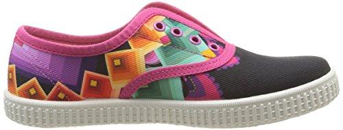 Desigual Nani, Baskets mode fille Multicolore (3043 Fucsia Glamour)