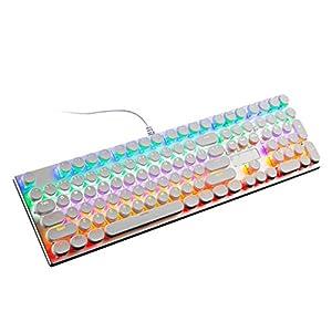 XiY RGB Kabel Maschine Ergonomischen Computer Laptop-Tastatur-Legierung Platte Bunte Beleuchtung Modi Steht Zur Verfügung 8 Geschwungene Tastatur Personalisiert Gaming